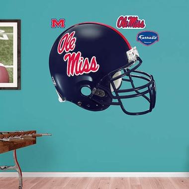 Mississippi Helmet Fathead Wall Graphic