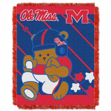 Mississippi Jacquard BABY Throw Blanket