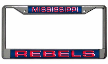 Mississippi Laser Etched Chrome License Plate Frame