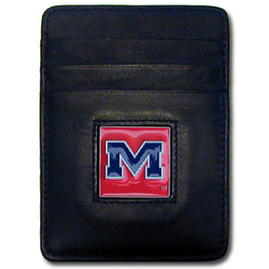 Mississippi Leather Money Clip