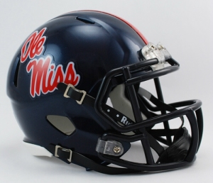 Mississippi Rebels Speed Mini Helmet