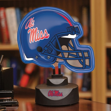 Mississippi Neon Display Helmet