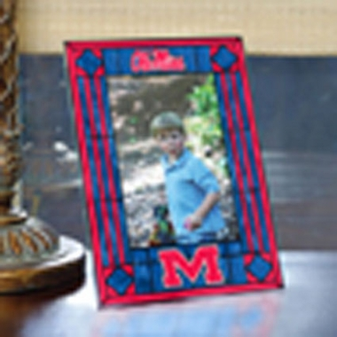 Mississippi Portrait Art Glass Picture Frame