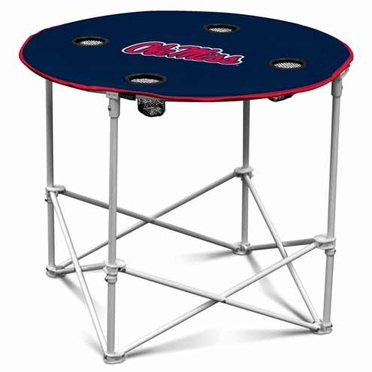 Mississippi Round Tailgate Table