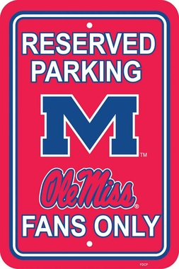 Mississippi Plastic Parking Sign (P)