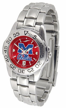 Mississippi Sport Anonized Women's Steel Band Watch