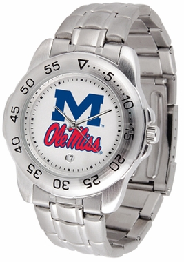 Mississippi Sport Men's Steel Band Watch
