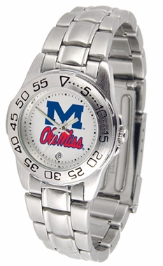 Mississippi Sport Women's Steel Band Watch