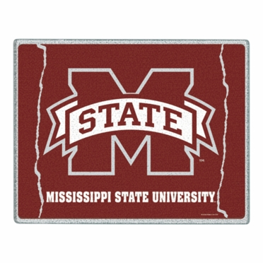 Mississippi State 11 x 15 Glass Cutting Board