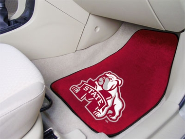 Mississippi State 2 Piece Car Mats