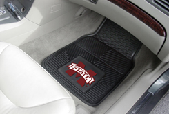 Mississippi State 2 Piece Heavy Duty Vinyl Car Mats