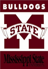 Mississippi State 2 Sided Banner (P)