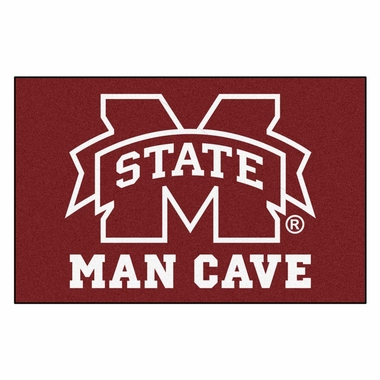 Mississippi State 20 x 30 Man Cave Rug