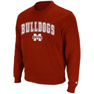 Mississippi State 2011 Automatic Fleece Crew Sweatshirt - Medium