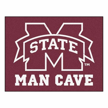 Mississippi State 34 x 45 Man Cave Rug