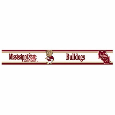 Mississippi State 5.5 Inch (Height) Wallpaper Border