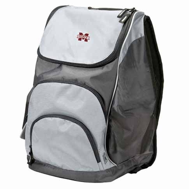 Mississippi State Action Backpack (Color: Grey)