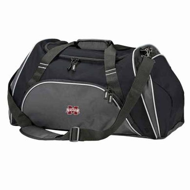 Mississippi State Action Duffle (Color: Black)