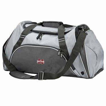Mississippi State Action Duffle (Color: Grey)