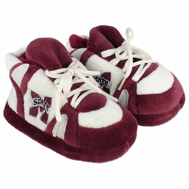 Mississippi State Baby Slippers