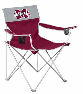 Mississippi State Big Boy Adult Folding Logo Chair