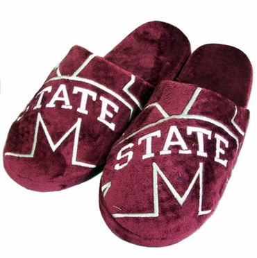 Mississippi State Big Logo Hard Sole Slippers