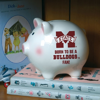 Mississippi State (Born to Be) Piggy Bank