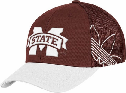Mississippi State Branded Logo Structured Flex Hat