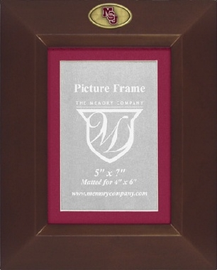 Mississippi State BROWN Portrait Picture Frame