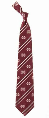 Mississippi State Cambridge Woven Silk Necktie
