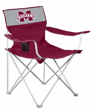Mississippi State Canvas Adult Folding Logo Chair