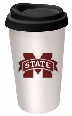 Mississippi State Ceramic Travel Cup