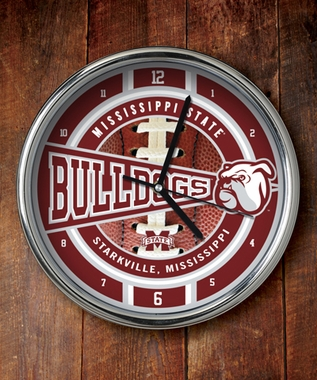 Mississippi State Chrome Clock