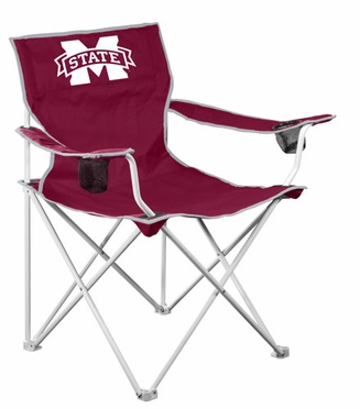 Mississippi State Deluxe Adult Folding Logo Chair