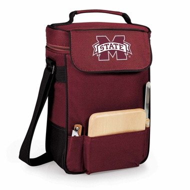 Mississippi State Duet Compact Picnic Tote (Burgundy)
