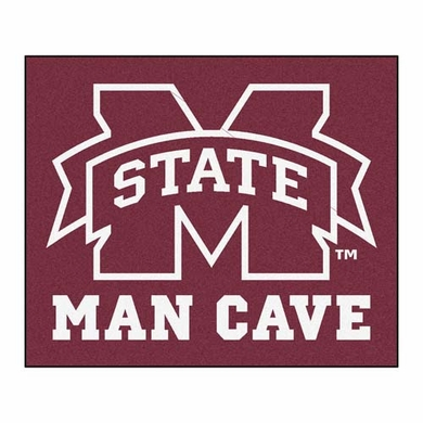 Mississippi State Economy 5 Foot x 6 Foot Man Cave Mat