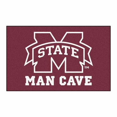 Mississippi State Economy 5 Foot x 8 Foot Man Cave Mat