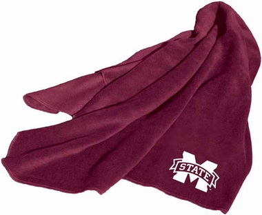 Mississippi State Fleece Throw Blanket