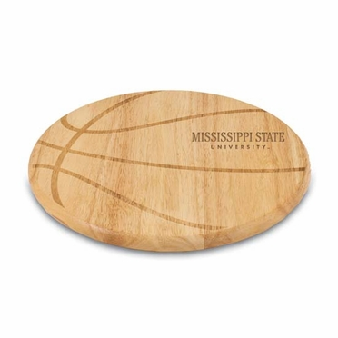 Mississippi State Free Throw Cutting Board
