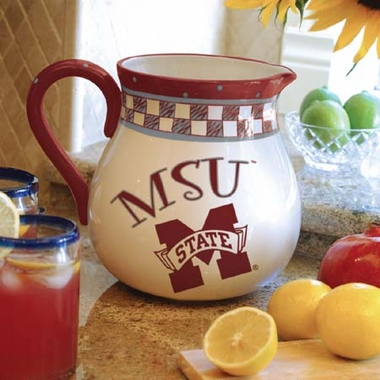 Mississippi State Gameday Ceramic Pitcher