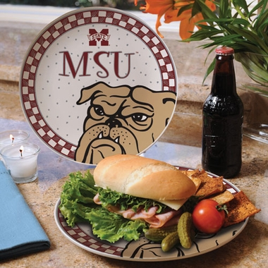 Mississippi State Gameday Ceramic Plate