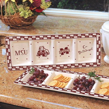Mississippi State Gameday Relish Tray