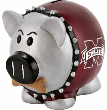 Mississippi State Bulldogs Piggy Bank - Thematic Large