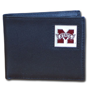 Mississippi State Leather Bifold Wallet