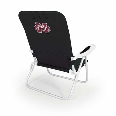 Mississippi State Monaco Beach Chair (Black)