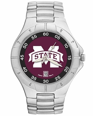 Mississippi State Pro II Men's Stainless Steel Watch