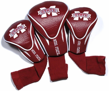 Mississippi State Set of Three Contour Headcovers