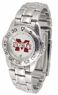 Mississippi State Sport Women's Steel Band Watch