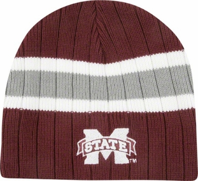Mississippi State Stinger Cuffless Knit Hat Beanie