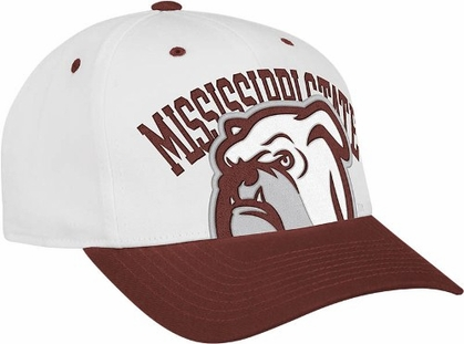 Mississippi State Structured Adjustable Mascot Hat